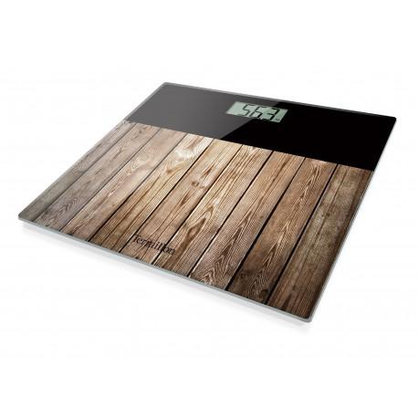 Waga elektroniczna Wood Home Brown