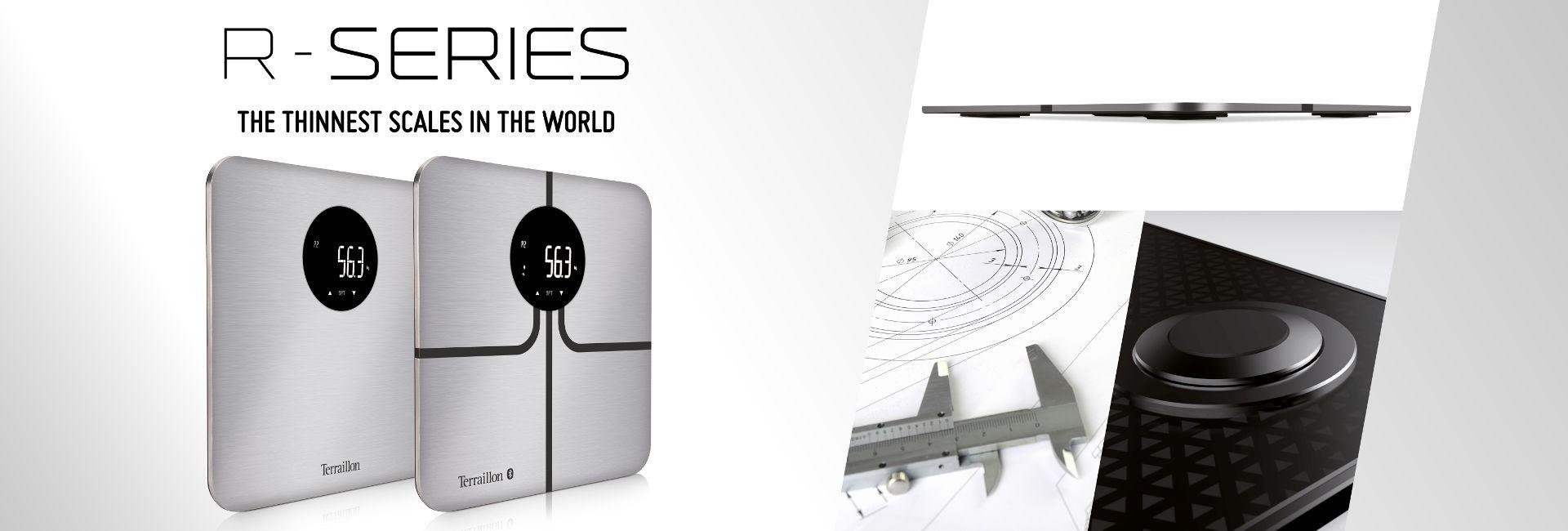 R Series - Najcieńsza waga na świecie