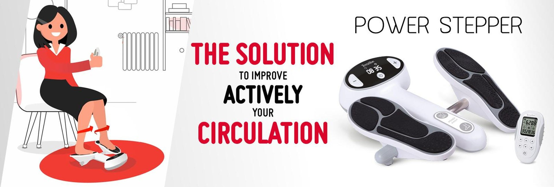 Power Stepper - The solution to improve actively your circulation